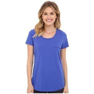 Vera Bradley Blue Pajama Top